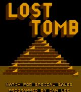 Lost Tomb Arcade Title screen