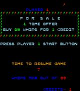 Lost Tomb Arcade The special sale: 25 whips for 1 credit