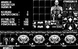 Ishar: Legend of the Fortress Atari ST Inventory (Monochrome monitor)