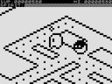 One Little Ghost ZX81 Picking up a pellet