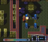 Operation Logic Bomb SNES Attacking a ring of turrets