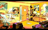 The Adventures of Willy Beamish Amiga Tifanny's room.