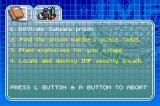 Mission: Impossible - Operation Surma Game Boy Advance View your mission information to see what objectives you have remaining