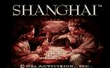 Shanghai Amiga Title screen