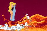 Dragon's Lair Amiga ... and smashed the crystal ball...