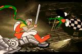 Dragon's Lair II: Time Warp Amiga ... slimy snakes.