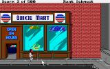 Leisure Suit Larry Goes Looking for Love (In Several Wrong Places) Amiga In front of the shop.