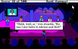 Leisure Suit Larry Goes Looking for Love (In Several Wrong Places) Amiga Doing some performance.