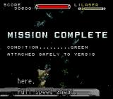 Cybernator SNES Mission Complete