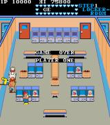 Mikie Arcade Game Over