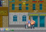 E-SWAT: Cyber Police Arcade Fat criminal