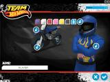 Team Hot Wheels: Moto X Windows Painting menu