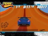 Team Hot Wheels: Drift Windows On the ramp