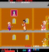 Lady Master of Kung Fu Arcade Enemy with stick