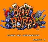 Beast Busters Arcade Title screen