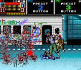 Beast Busters Arcade Blood and guts