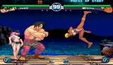 Street Fighter III: 2nd Impact - Giant Attack Arcade Elena's back spinning kick
