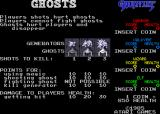 Gauntlet Arcade Ghost types