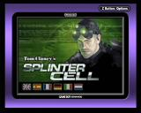 Tom Clancy's Splinter Cell Game Boy Advance Main Title