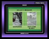 Tom Clancy's Splinter Cell Game Boy Advance Mission selection lets you (re)play any mission you reached in the storyline so far.