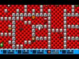 I Can't Believe It's Not... Bomberman DOS This is the start of Adventure mode. The player's character is left of centre with a green spot on their head