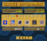 Jimmy Houston's Bass Tournament U.S.A. SNES Choose the month and the weather conditions