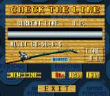 Jimmy Houston's Bass Tournament U.S.A. SNES Check the line