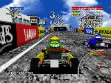 Ayrton Senna Kart Duel 2 PlayStation Racing... All races (against seven opponents) have 3 laps.