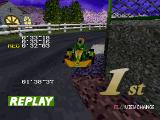 Ayrton Senna Kart Duel 2 PlayStation A full replay (three laps) will be played after the race. There are four views to choose from.