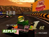Ayrton Senna Kart Duel 2 PlayStation Burger Burger, that's right. A game released for the PS1. And also for the Game Boy Color.