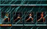 International Sports Challenge Atari ST Selection of runner