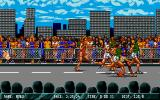 International Sports Challenge Atari ST The backgrounds are scrolling smoothly