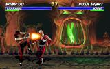 Mortal Kombat 3 Arcade Liu Kang's close fireball