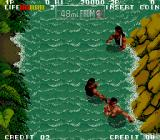 Ikari III: The Rescue Arcade Game starts