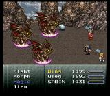 Final Fantasy III SNES Those baddies try to silence my guys!