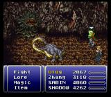 Final Fantasy III SNES Some typical Final Fantasy high-level monsters
