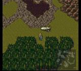 Final Fantasy III SNES World of Ruins, near the airship