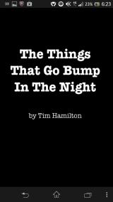 The Things that Go Bump in the Night Android Title screen