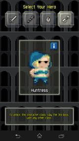 Pixel Dungeon Android Optional unlockable character class!