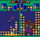 Bomberman: Panic Bomber FM Towns Stage 3 against Buroru