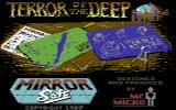 Terror of the Deep Commodore 64 Title Screen.