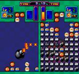 Bomberman: Panic Bomber FM Towns About to drop the Bomba, and beat the opponent