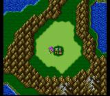 Final Fantasy V SNES Faris on a world map