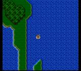 Final Fantasy V SNES Navigating a ship