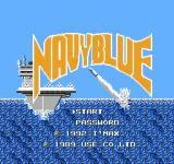 NavyBlue NES Title screen