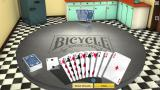 Bicycle Gin Rummy Windows Drawing the card