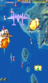 19XX: The War Against Destiny Arcade Some explosions