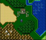 Final Fantasy II SNES World map