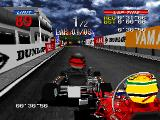 Ayrton Senna Kart Duel 2 PlayStation Senna is very close...