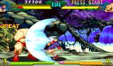 Marvel Super Heroes vs. Street Fighter Arcade Mega hadouken